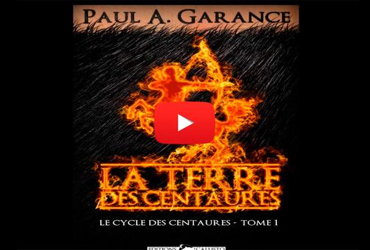 """Bandes-annonces du roman """"La Terre des centaures"""""""