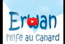 "Bande-annonce du roman ""Erwan l'elfe au canard"""