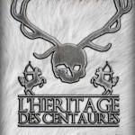 """Création de la couverture du livre """"L'Héritage des centaures"""""""