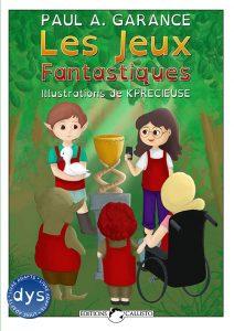 """Couverture""""Les Jeux Fantastiques"""""""
