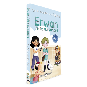 Livre Erwan, l'elfe au canard
